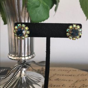 J. Crew Daisy Flower earrings
